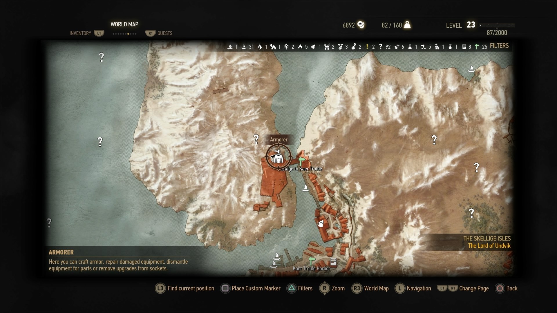 witcher3 how to get to kaer morhen